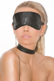 Elegant Moments Leather blindfold