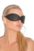 Elegant Moments Leather Blindfold