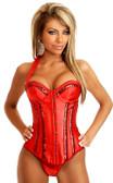 Daisy Corset Red Showgirl Burlesque Corset