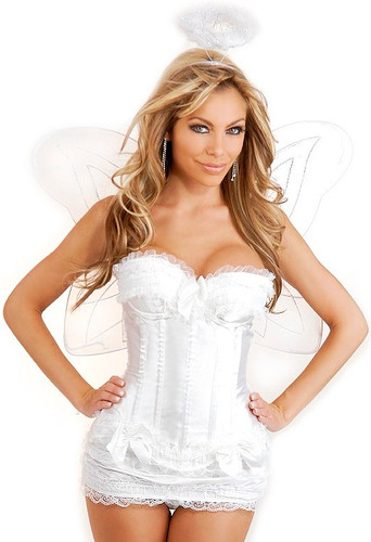 Daisy Corset 4 PC Sexy Angel Costume
