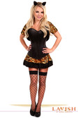 Daisy Corset 4 Pc Sexy Tigress Costume
