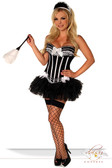 "Daisy Corset 4 Pc Sexy ""French Maid"" Costume"