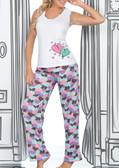 Ryocco 2 Piece Set Pajama Pants