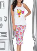 Ryocco Giraffe Capri Pajama Set