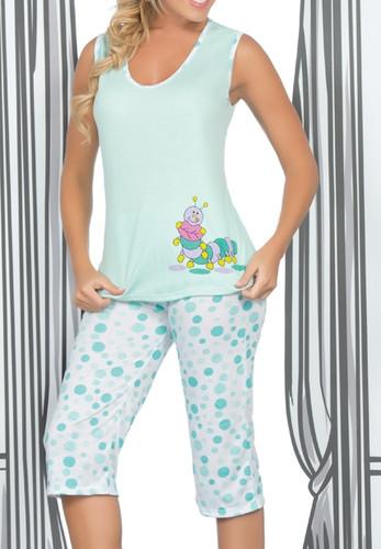 Ryocco Caterpillar Pajama Set