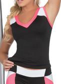 Ryocco Tri-color Sportswear Tank Top