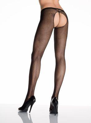 Leg Avenue Fishnet Crotchless Pantyhose