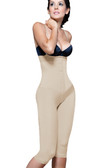 Vedette Irina Strapless Below The Knee Body Shaper - Nude