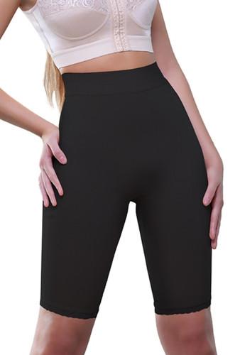 Vedette Amie High Waist Panty Buttock Enhancer - Black