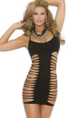 Elegant Moments Mini Dress with Cut Out