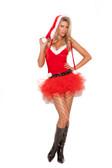 Elegant Moments 3Pc Santas Sweetie Costume