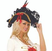 Elegant Moments Pirate Hat