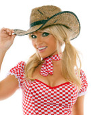 Elegant Moment Straw Cowgirl Hat