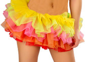 Roma Costume Mini Petticoat - Rainbow