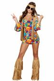 Roma Costume 3Pc Hippie Hottie Mimi Dress