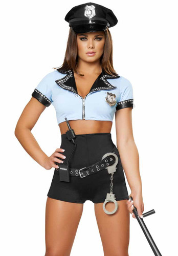 Roma Costume Sexy Police Woman