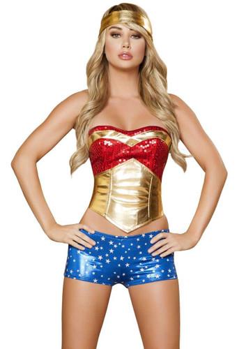 Roma Costume Wonder Heroine