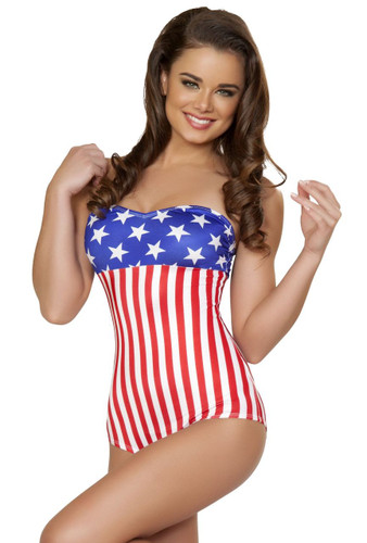 Roma Costume American Pinup Romper
