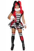 Roma Costume 3Pc Court Jester Cutie