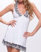 Fearless and Fun Lingerie Silk Jersey Halter Chemise