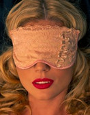 Fearless and Fun Lingerie Beige Sleep Mask