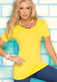 Ryocco Blouse with Thin Cross Strap Back
