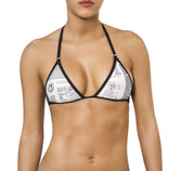 Joe Snyder Women Corfu Top - Newsprint