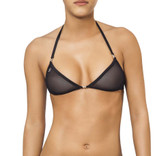Joe Snyder Women Lemnos Top - Black Mesh