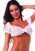 BodyZone Apparel School Girl Top Lace - White(Front)