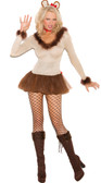 Elegant Moments Lioness 4Piece Costume