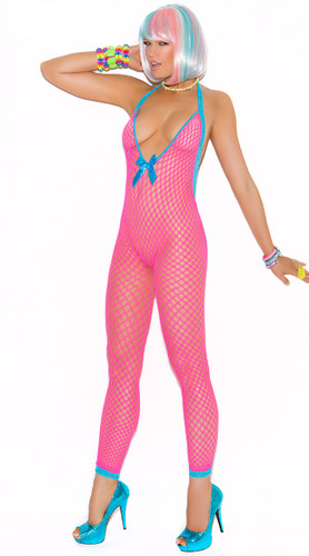 Elegant Moments Peek-a-Boo Bodystocking