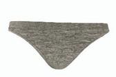 Lupo Seamless Loba Tanga Panty - Dark Gray
