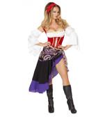 Roma Costume Sexy Gypsy Maiden Costume