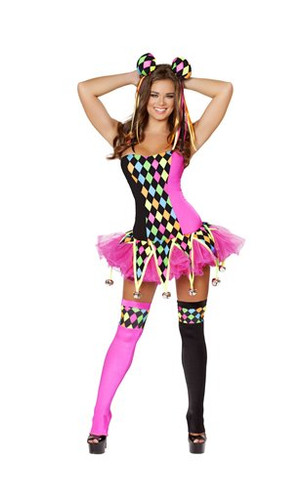 Roma Costume 3pc Lusty Laughter Costume