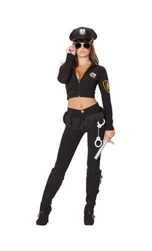 Roma Costume 6pc Seductive Cop Costume