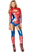 Roma Costume 1pc Web Crawler Costume