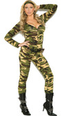 Elegant Moments Plus Size Combat Warrior Costume