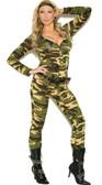 Elegant Moments Plus Size Combat Warrior Costume