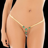 BodyZone Apparel Uncensored Emerald Thong