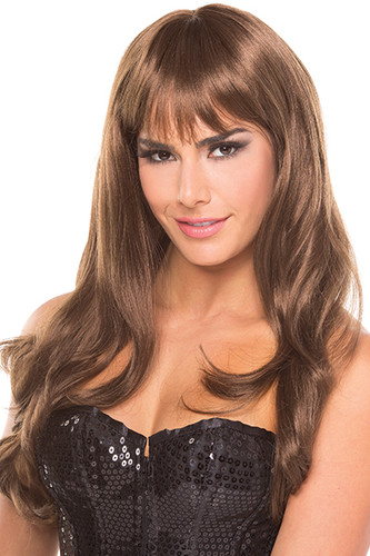 Be Wicked Burlesque Wig - Auburn