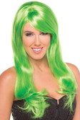 Be Wicked Burlesque Wig - Green