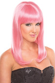 Be Wicked Hollywood Wig - Pink