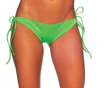 BodyZone Tie Side Scrunch Bottom - Neon Green