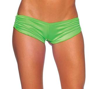 BodyZone Scrunch Shorts - Neon Green