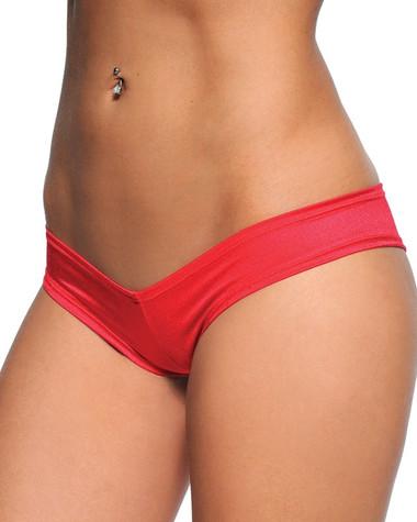BodyZone Scrunch Back Super Micro Shorts - Red