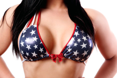 Bodyzone Apparel Patriotic Fireworks Top