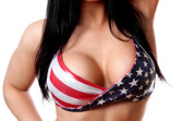 Bodyzone Apparel Patriotic Twist Top