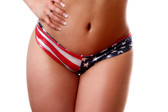 Bodyzone Apparel Patriotic Twist Short