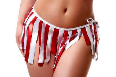 Bodyzone Apparel Patriotic Tie Side Cover Up
