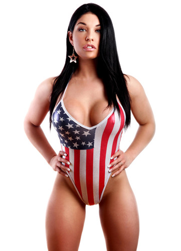 BodyZone Apparel Patriotic 80's One Piece